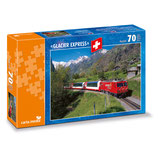 CARTA.MEDIA 7720 Puzzle Glacier Express bei Stalden VS