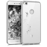 Crystal Case Huawei P8 Lite 2017 Fee Silber