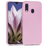 TPU Case Hülle Samsung Galaxy A40 Rosa