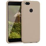 TPU Case Xiaomi Mi 5X / Mi A1 Beige
