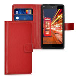 Wallet Case Hülle Wiko Robby Rot
