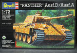 Revell 03107 Modellbausatz Panther Ausf.D /Ausf.A im Massstab 1:72