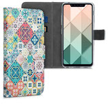 Wallet Case Hülle LG G8s ThinQ Fliesen