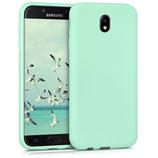 TPU Case Samsung Galaxy J7 2017 Mintgrün