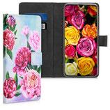 Wallet Case Samsung Galaxy A70 Pfingstrosen