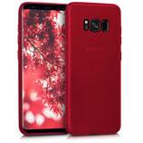 Crystal Case Samsung Galaxy S8 Hochglanz Rot