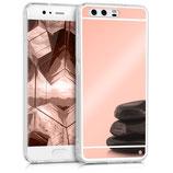 Spiegel Hülle Case Huawei P10 Rosegold