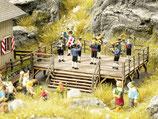 Noch 66826 Festbühne Blaskapelle mit Sound