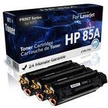 3x Toner Schwarz HP-85A CE285A Laserjet