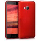 TPU Case Hülle HTC U Play Hochglanz Rot