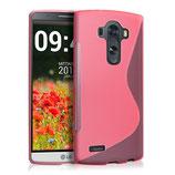 TPU Silikon Case S-Line LG G4 Pink
