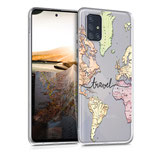 TPU Case Samsung Galaxy A71 Travel