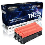 3x Toner Schwarz Brother TN-325