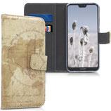Wallet Case Huawei P20 Lite Weltkarte