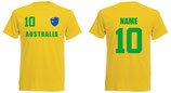 Australien WM 2018 T-Shirt Kinder Gelb