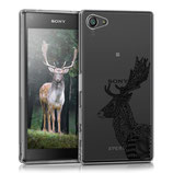 Case Hülle Sony Xperia Z5 Compact Hirsch