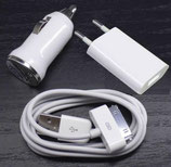 APPLE KFZ Ladegerät USB Lade Kabel iPod iPhone 3G S 4G 4S