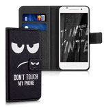 Wallet Case Hülle HTC One A9 Don't touch