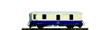 Bemo 3236 121 RhB D 4051 Gepäckwagen ACPE