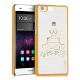 Crystal Case Frosch Huawei P8 Lite Gold