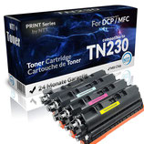4x Toner Brother TN-230 4 Farben