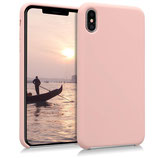 TPU Case Hülle Apple iPhone XS Max Altrosa