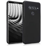 TPU Case Cover LG V40 ThinQ Schwarz matt