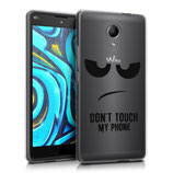 TPU Silikon Case Hülle Wiko Robby Dont