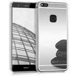 Spiegel Hülle Case Huawei P10 Lite Silber