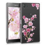 TPU Case Sony Xperia Z5 Compact Kirschblüte Ast Pink Rosa