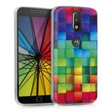 TPU Case Motorola Moto G4 G4 Plus Würfel
