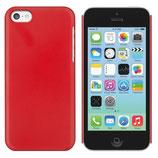 HARDCASE für das Apple iPhone 5C in Rot