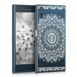 Crystal Hard Case Sony Xperia XZ Blume