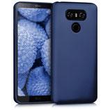 TPU Silikon Case LG G6 Metallic Blau
