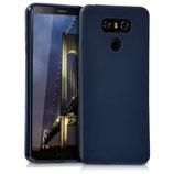 TPU Silikon Case LG G6 Dunkelblau matt