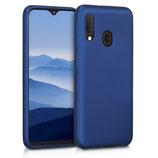 TPU Case Samsung Galaxy A20e Metallic Blau