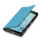 Flip Case Sony Xperia Z5 Premium Hellblau