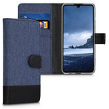Wallet Case Huawei P30 Lite Canvas Blau