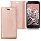 Flipcover Case Samsung Galaxy J3 2017 Rosegold