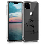 Case Hülle Apple iPhone 11 Pro Live Laugh