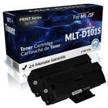 2x Toner Schwarz Samsung Toner MLT-D101S