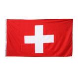 Schweiz Switzerland Schwiiz Fahne Flagge mit Ösen 60x90 cm