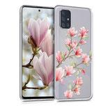 TPU Case Hülle Samsung Galaxy A71 Magnolie