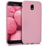 TPU Case Samsung Galaxy J5 2017 Rosa matt
