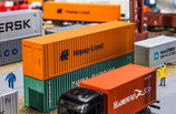 Faller 180841 40 Zoll Container Hapag Lloyd