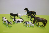 8 Tiere für den Bauernhof H0