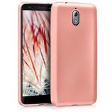 TPU Case Hülle Nokia 3.1 (2018) Rosegold