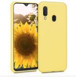 TPU Case Hülle Samsung Galaxy A20e Gelb