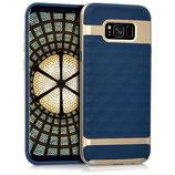 Hybrid Case Samsung Galaxy S8+ Blau Gold