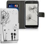Wallet Case Motorola Moto G5 Pusteblume